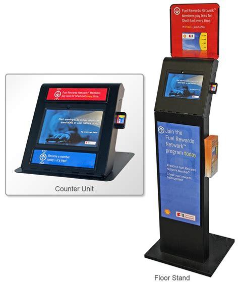 Activate Shell Gift Card - shell fuel rewards 174 kiosk frank mayer and associates inc kiosk design