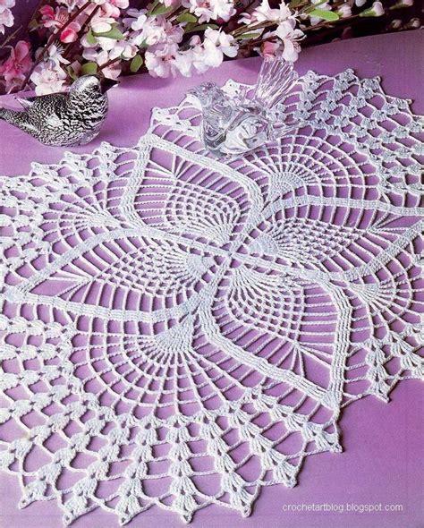 Doily Pattern Pinterest | crochet doilies free crochet pattern oval lace doilies