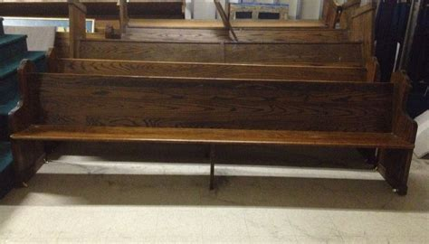 Superior Old Wooden Church Pews #3: S-l1000.jpg