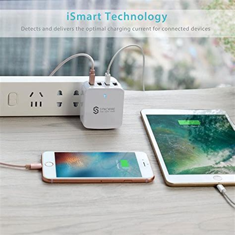 Fast Charger Travel Wall Charger 4 Port Usb Orico Dca 4u travel wall charger usb syncwire 34w 6 8a 4 port