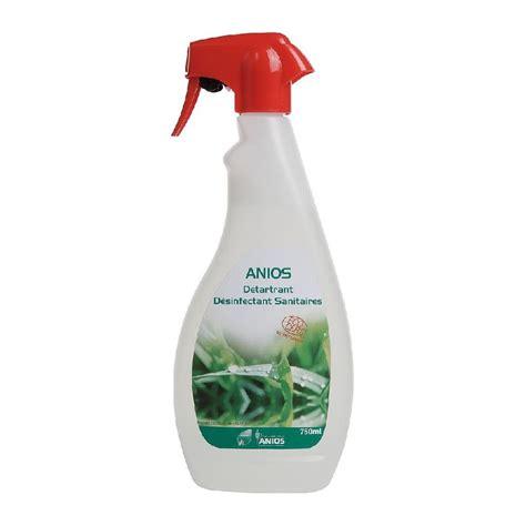 Produit Nettoyage Baignoire by Anios D 201 Tartrant D 201 Sinfectant Sanitaires Comparer Les Prix