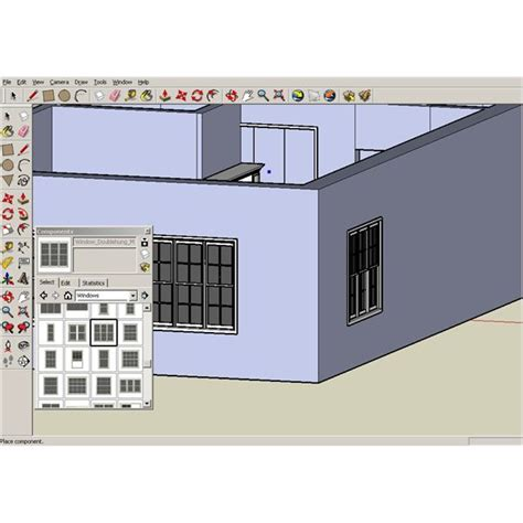tutorial memakai google sketchup google sketchup tutorials creating walls and a roof for