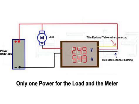 Sale Digital Voltage Tester 12 200 Volt C Mart Tools Cl0034 dc 200v 0 10a digital voltmeter ammeter blue led dual