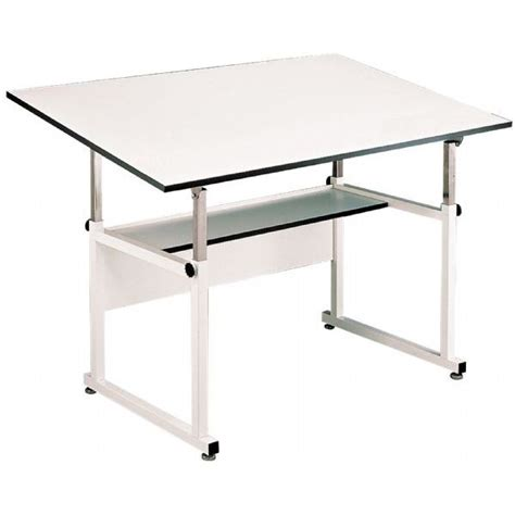 Alvin Drafting Table Workmaster Black Base 37 5x72 Alvin Workmaster Drafting Table