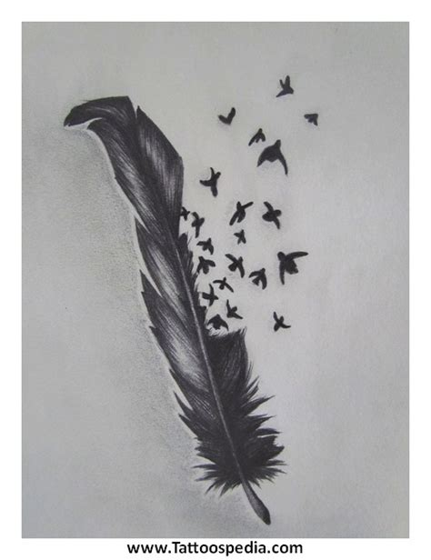 raven feather tattoo designs tattoospedia
