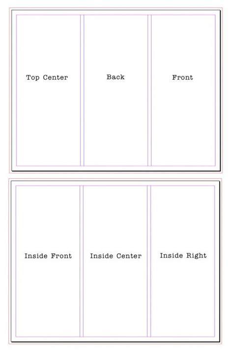 65lb white tri fold brochure w business card holder 250 tri fold