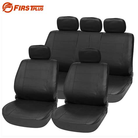 front car seat covers universal pu leather car seat covers front back seat