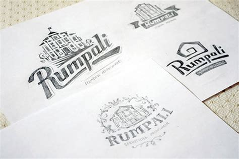 awesome logo concept sketches web graphic design
