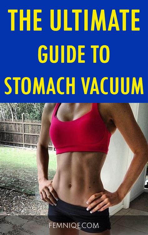 the ultimate guide to stomach vacuum exercise best guide femniqe