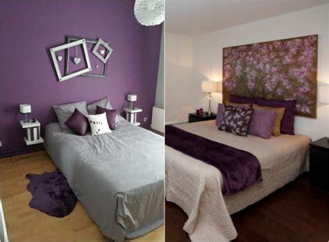 d馗oration murale chambre adulte couleur aubergine et 224 quoi l associer dans chaque pi 232 ce
