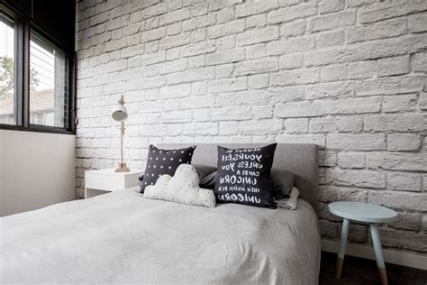white brick wallpaper bedroom home design ideas and pictures