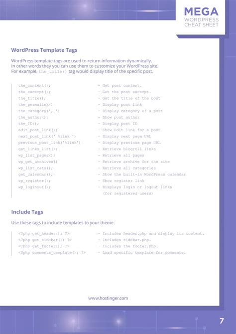 ultimate wordpress cheat sheet       jpg