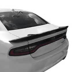 2016 dodge charger spoilers custom factory lip wing