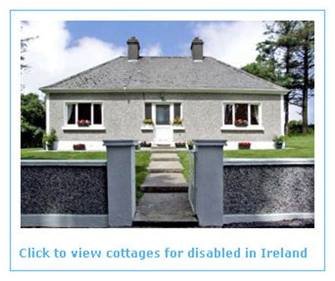 self catering holidays for the disabled in ireland
