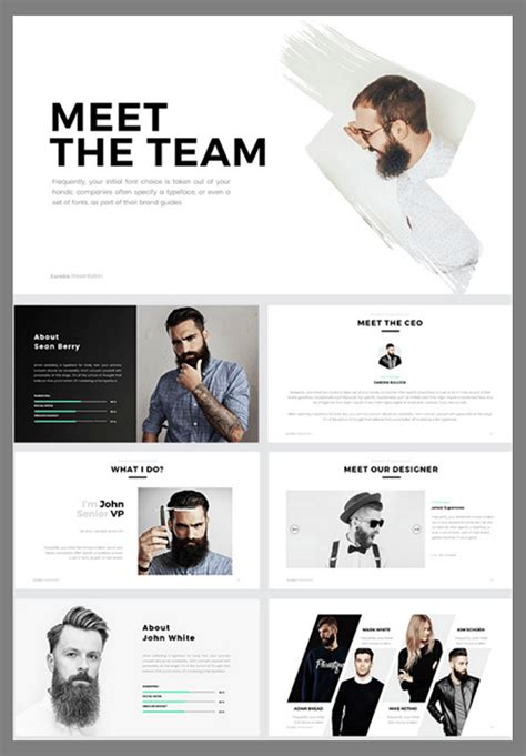 The 5 Best Powerpoint Templates Of 2016 Biography Powerpoint Template