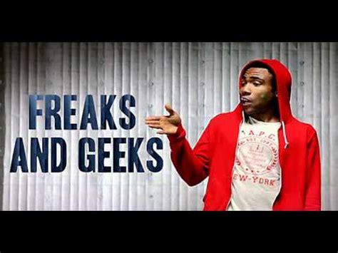 childish gambino freaks and geeks lyrics childish gambino freaks and geeks instrumental youtube