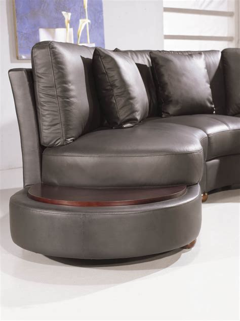 sofa ev ev 2229 contemporary black leather sectional black design co