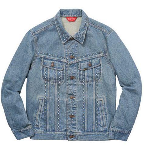 vintage supreme clothing authentic supreme denim trucker jacket vintage clothing