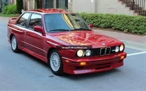 Bmw M3 1990 1990 Bmw M3 Base Coupe 2 Door 2 3l