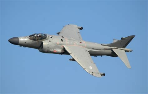 Section 2 Harrier by Wallpaper Quot Harrier Quot Attack Flight Sea Harrier Fa2