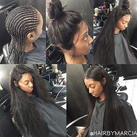 perfect smount of leave out for sew in weave 94 best long hair style images on pinterest hair dos