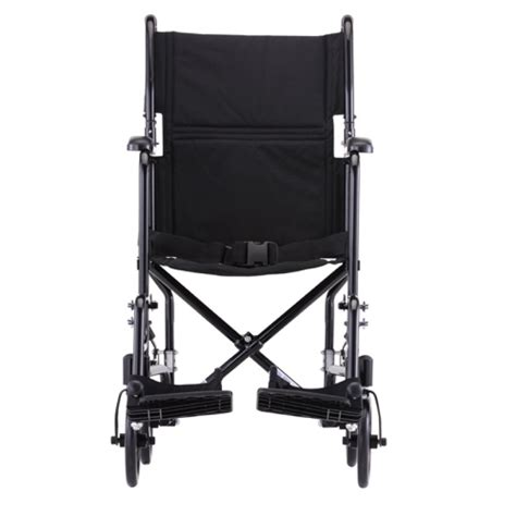 Transport Chair Reviews by 19in Steel Transport Chair Black 319bk 4md