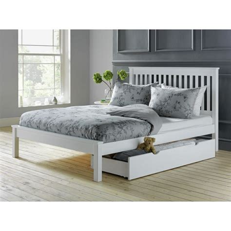 small double beds buy collection aspley small double bed frame white at