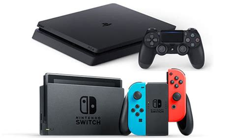 ps4 v nintendo switch sony shows nintendo who s with sales news gaming