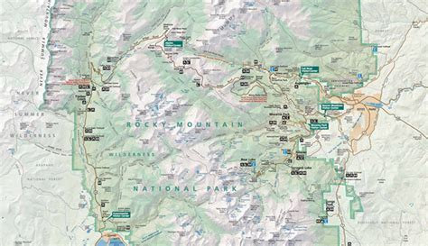 trail finding my way home in the colorado rockies books official rocky mountain national park map pdf my rocky