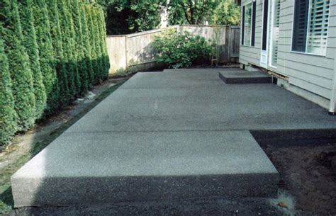 backyard concrete ideas best backyard patio design ideas pictures backyard designs