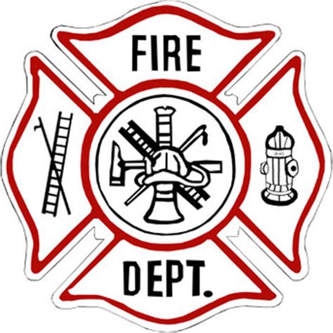 firefighter emblem clipart clipart kid