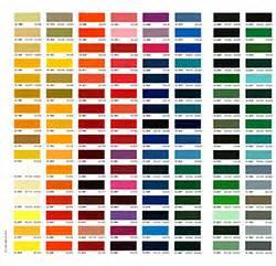 gel coat colors colour charts aquassure