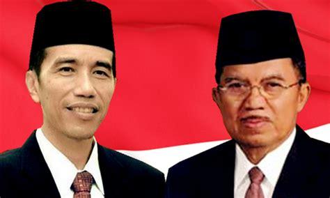 profil jokowi dan jk presiden