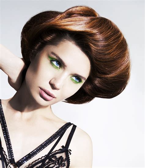 british hairstyles 2014 a medium brown hairstyle from the british hairdressing