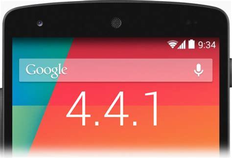 android 4 4 1 ora su nexus 5 nexus 4 e nexus 7 2013 lte plus e tutti i link al