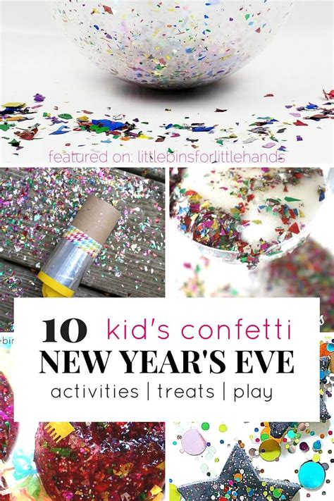 new year s ideas 2012 confetti ideas for new years with