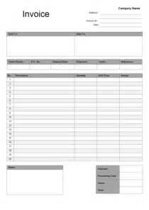 general invoice template general invoice template free