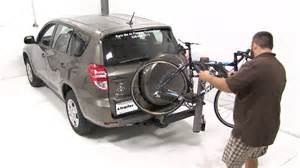 Toyota Rav4 Bike Rack Review Of The Yakima Swingdaddy 4 Hitch Bike Rack On A