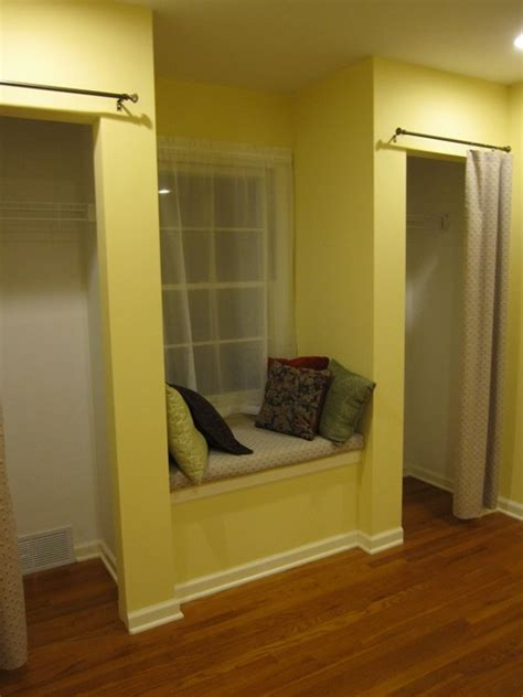 closet window seat dream home interior designs