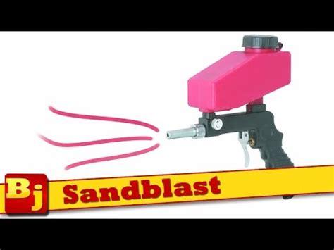 Sandblast Ep ep 12 blasting with the harbor freight blaster soda vs