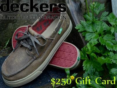 Win Gift Cards For Surveys - www deckerslistens com win deckers 250 gift cards guest survey quarterly drawing
