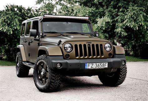 Gold Jeep Wrangler Zmiana Koloru Samochodu Jeep Wrangler