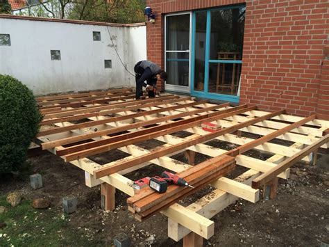 terrasse unterkonstruktion terrassen unterkonstruktion holz 72 images
