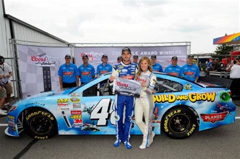 coors light pole qualifying jimmie johnson parlays later than expected draw into
