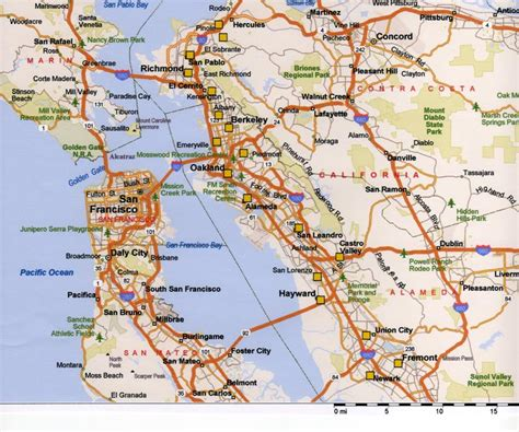map of bay area east bay images