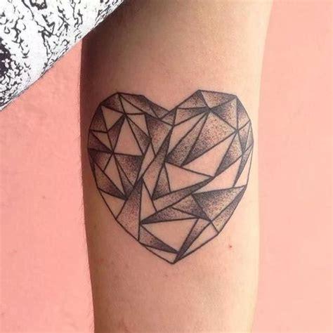 tattoo geometric heart geometric tattoo images designs