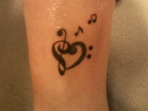 heart with music notes tattoo designs note picture at checkoutmyink