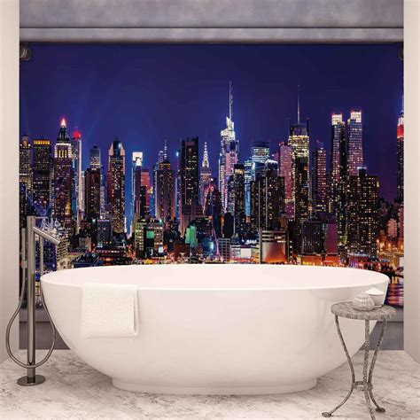 new york wall mural new york city skyline window view wall mural photo wallpaper 2866dk ebay