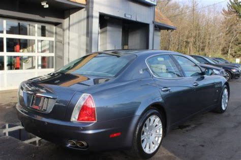 Maserati Quattroporte Horsepower by Buy Used 2005 Maserati Quattroporte Sedan 4 2l V8 400