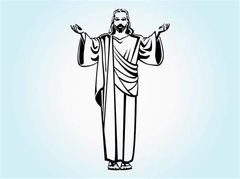 jesus clipart clip of jesus ascending into heaven clipart